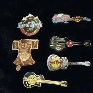 New Authentic Hard Rock Cafe pins